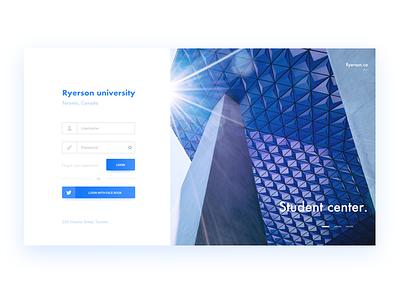ryerson university ryerson userinterface branding webdesign aycdesigner