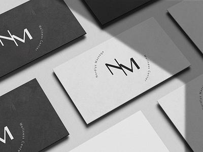 NM Business Card freelance graphicdesign design mockup logo branding businesscard
