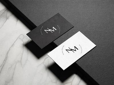 Second Mockup for NM freelance ui businesscard branding logo illustration