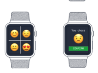 Apple Watch Emoji Feedback Interface Wireframes (2)