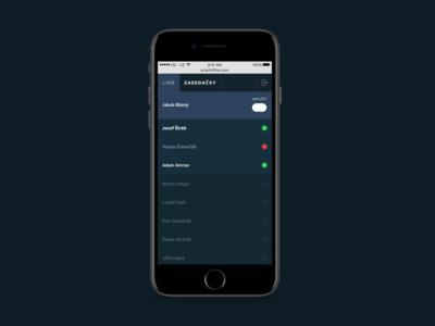 ProofOffice ui mobile app