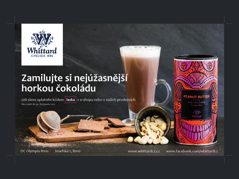 Whittard chocolate whittard campaign magazine