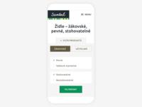 Santal– Mobile Product Filter