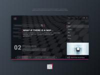 Dark UI Concept - Techblog or Software Development