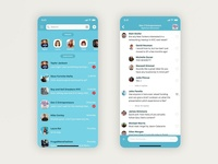 ChitChat - Messaging App Concept