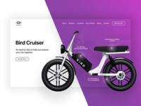 Bird Bike Web Re-Design