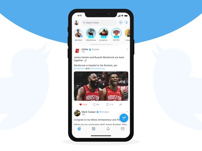 Twitter Redesign Concept 2019