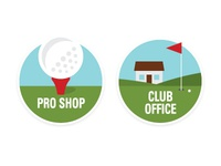 Icon Set - Golf