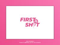 First Shot Logo Design