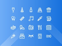 Party Icons - Line Style