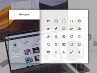 User Interface Icons (Line Styles)
