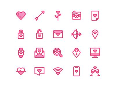 Romance Icons
