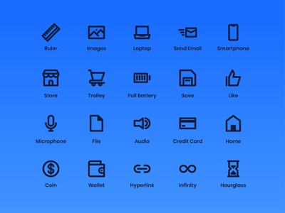 User Interface Icons (Line)