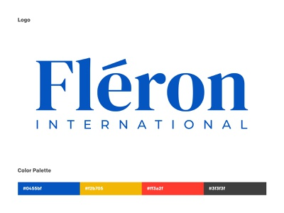 Logo Design for a French Bank logo mark logo design colors brand identity french royal white blue bank app banking bank illustrator icon flat vector logo typography minimal branding design