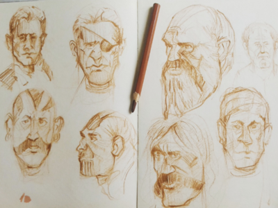 Quick Sketches sketching illustration draw