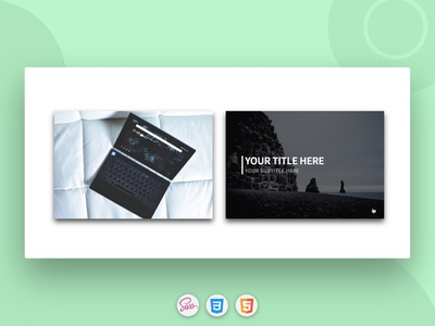 CSS3 Cards with Smoothly Hover Effect