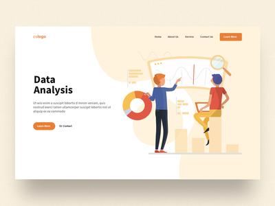Data Analysis Header Design