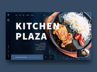 Barbecue Landing page design