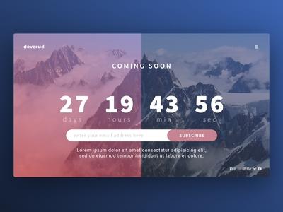 Countdown design