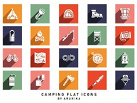Cooking Flat Icons