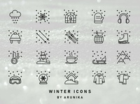 Winter Icons by ARUNIKA