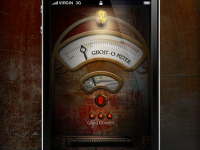 Ghost-O-Meter app iphone ghost