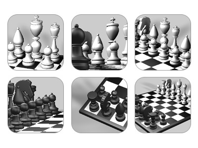 Chess Icons ches games ipad touch icon iphone ipod app