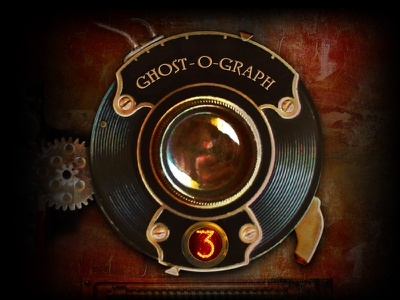 Ghost-O-Graph steampunk app icon ghost