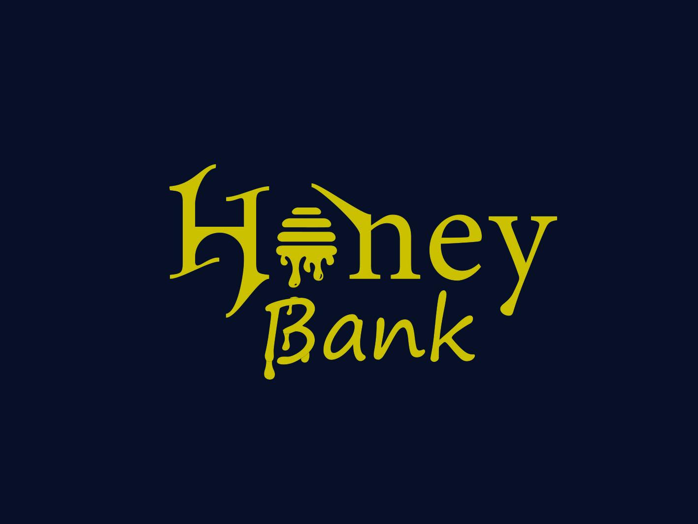 Logo Design minimalist business logo honey modern logos custom logo concept branding creative illustration 2d art logo design color branding design typogaphy logotype identity design art logo