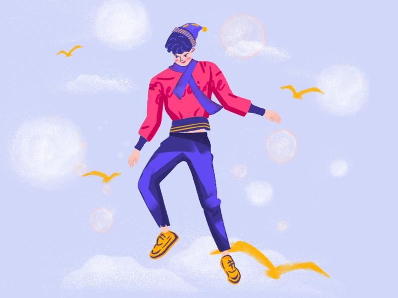 Illustration #2  Fly High