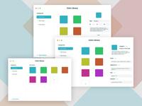 Color Library Mac App Design