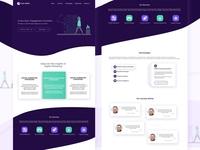 UI - Marketing Landing Page Concept