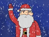 Santa Claus Character Design