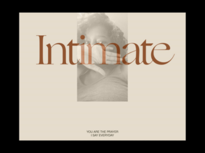 Intimate Poster