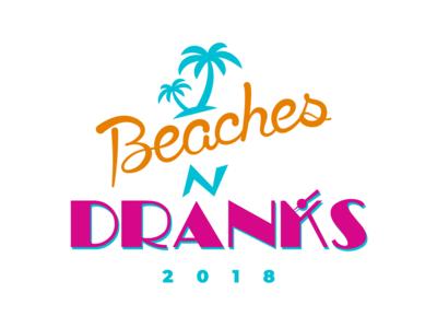 Beaches N Dranks 2018 Custom T-Shirt