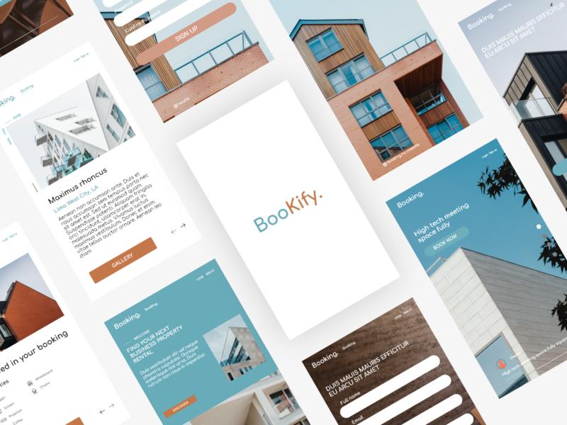 Architect Booking App mobile ui uidesign uiux
