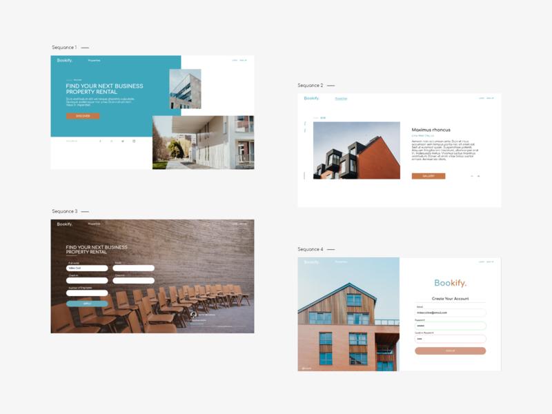 Architect booking website appdesign design uidesign dailyui uiux webdesign website