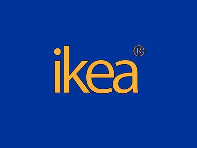 Retro Ikea Logo