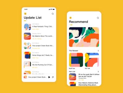 A Podcast App