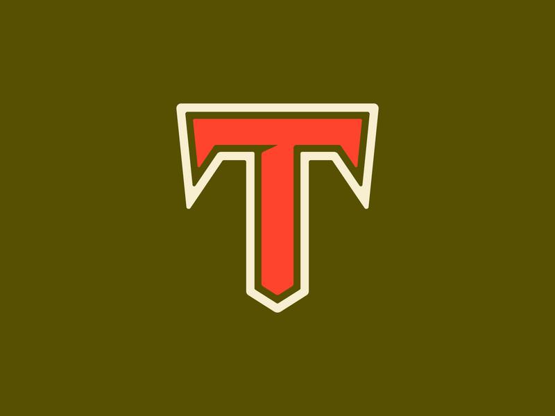 36 Days of Type — T vector logo typography type design branding 36daysoftype 36days