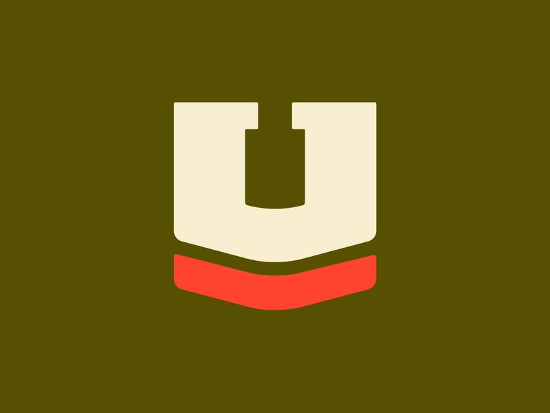 36 Days of Type — U military utah logo type design branding 36daysoftype 36days
