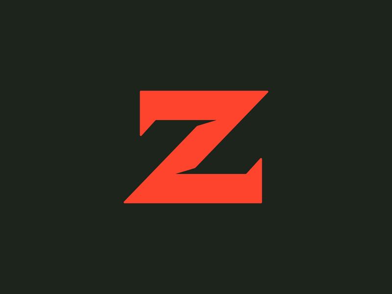 36 Days of Type — Z logo letter typography type design branding 36daysoftype 36days