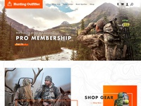 Hunting — Website Layout
