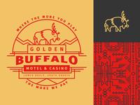 Saxton Horne — Christmas Golden Buffalo