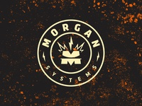 Morgan Systems — Logo (crest)