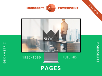 Pages PowerPoint Presentation Template