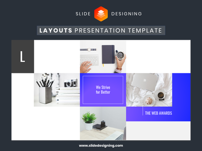 Layouts - Presentation Template presentation design present annual report marketing ppt business office microsoft template typography digital clean vector goods branding animation designing slide powerpoint presentation