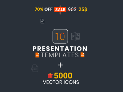 PowerPoint Presentation Templates BUNDLE 70% OFF Sale! bundle template bundle branding designing slide creative powerpoint animation powerpoint presentation template powerpoint design powerpoint presentation powerpoint template ppt kit package presentation powerpoint