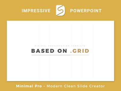 Minimal Pro - Presentation Template Slide Builder