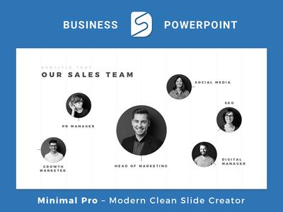 Minimal Pro - Presentation Template Slide Design Builder